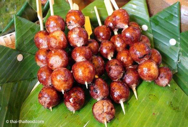 Thai Wurst Rezept Sai Krok Isaan