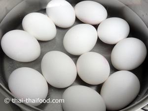 gesalzene Eier