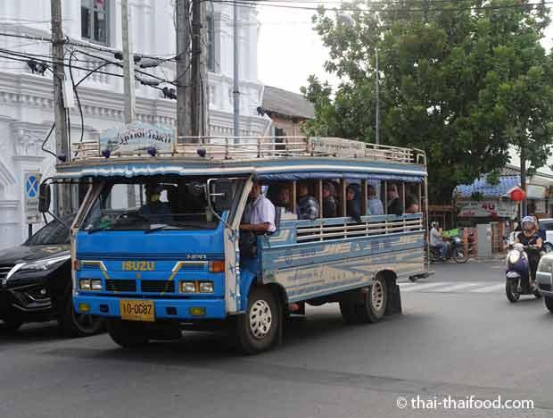 Phuket Songthaews