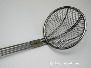 Schaumlöffel/ Blanchierlöffel für Woks