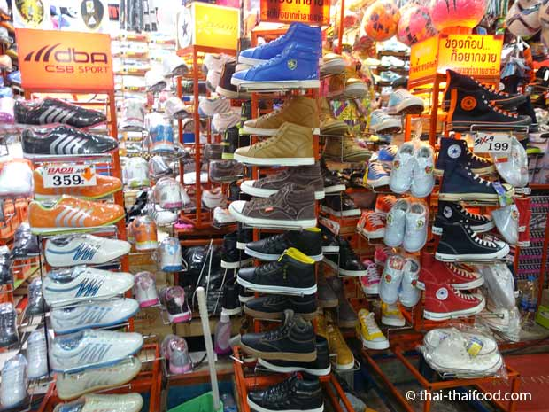 Schuhe kaufen Thailand