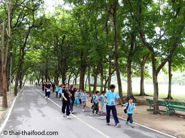 Schulausflug in den Suan Rot Fai Park
