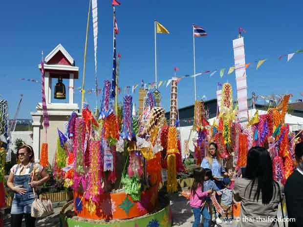Songkran Fest im Schweizer Tempel Gretzenbach