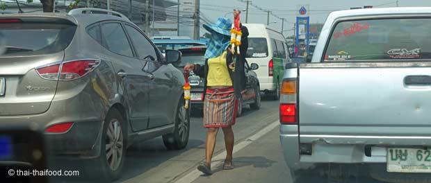 Thai Blumengirlande Phuang Malai