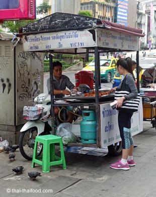 Streetfood Strassenverkauf