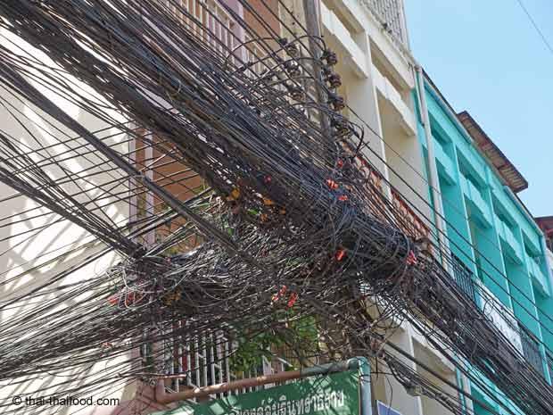 Strom Verkabelung Thailand