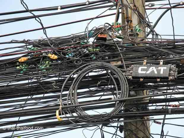 Stromversorgung auf der Insel Koh Samui