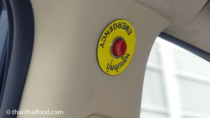 Emergency Button im Taxi Bangkok
