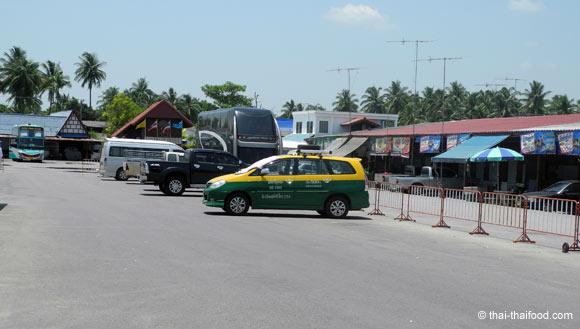 Privat Taxi wartet