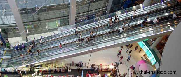 Terminal 21 Einkaufszentrum Bangkok