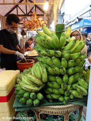 thailändische Bananenstaude