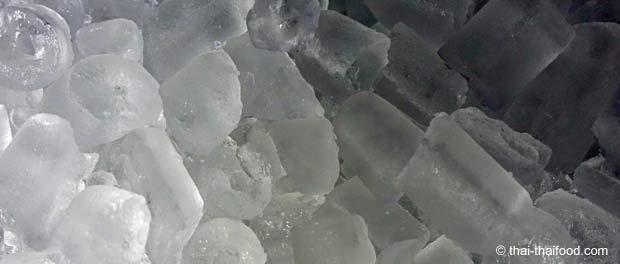 Unbedenkliche thailändische Eiswürfel für Getränke