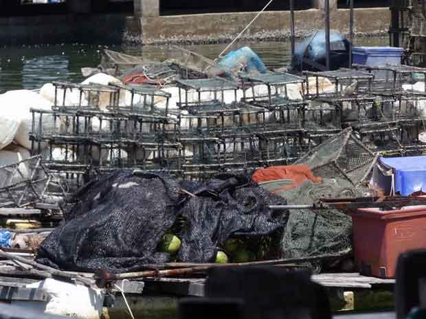 Hummerfallen der thailändischen Fischer