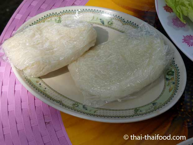 Thai Klebreis im Straßenrestaurant