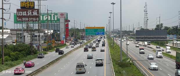 Thailändische Autobahn Motorway
