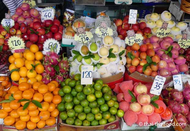 Thailändisches Obst