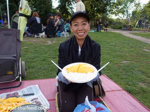 Thaiwiese Berlin Mango Klebreis