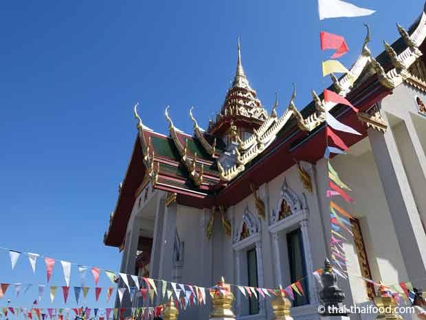 Thai Tempel in der Schweizer Gemeinde Gretzenbach