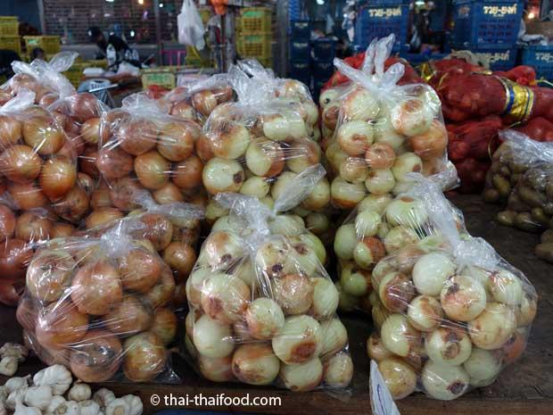 Thai Zwiebeln (Hom Yai) | หอมใหญ่