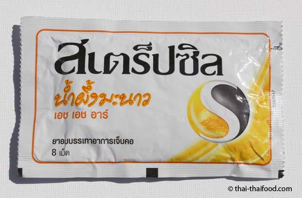 Strepsils Lutschtabletten Thailand