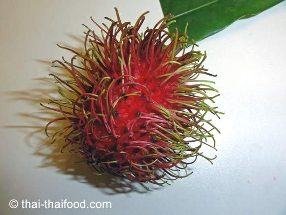 Thailändische Rambutan