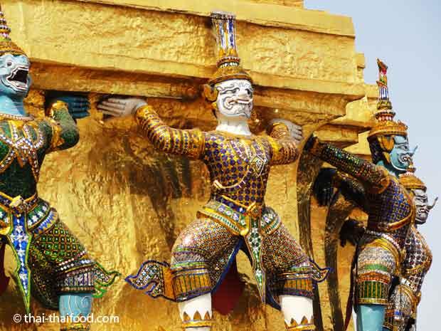Buddhistische Tempel Thailand
