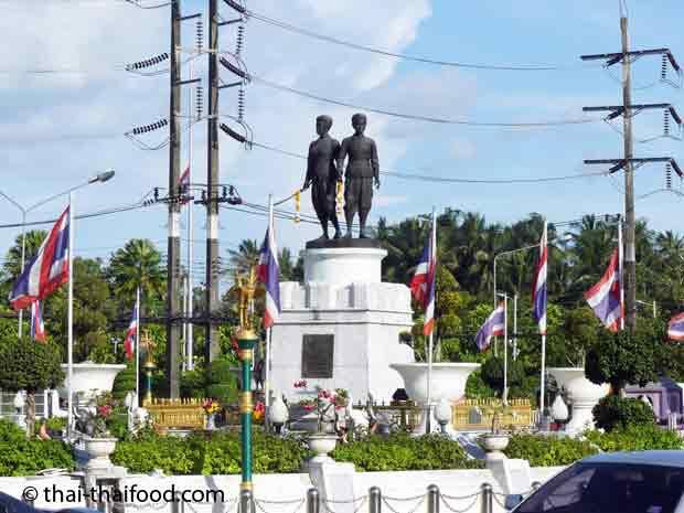 Heldinnen der Provinz Phuket