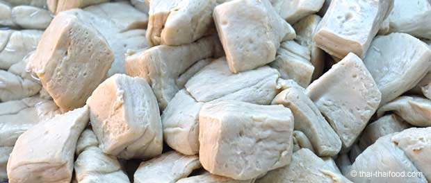Tofu Verkauf in Thailand