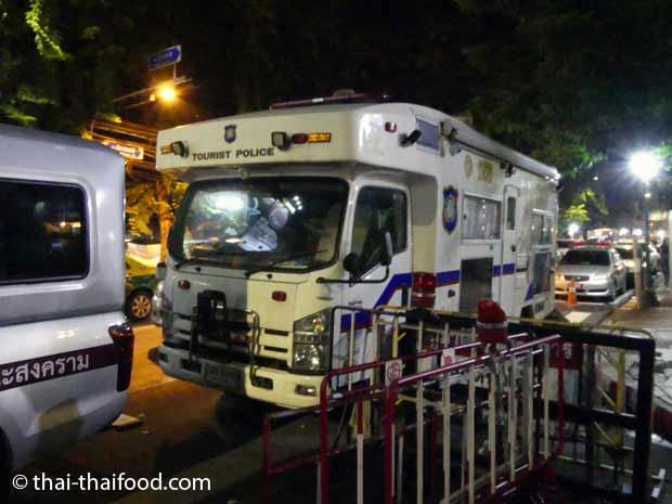 Touristenpolizei Thailand