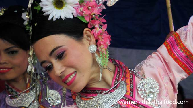 Klassischer Thai-Tanz Vorführungen