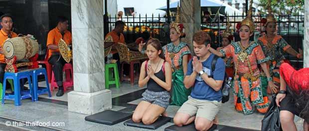Traditionelles thailändisches Orchester