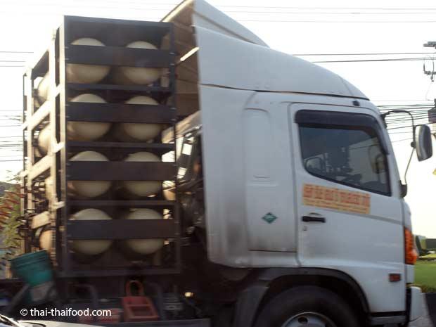 LPG Autogastanks für Truck mit Gas