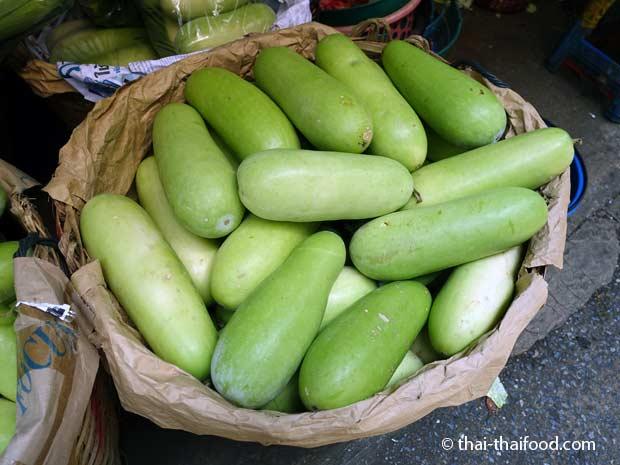 Wachsgurke im Thai Supermarkt
