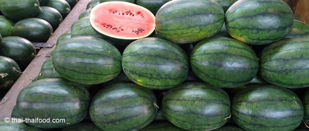 Thailändische Wassermelone