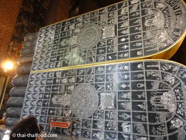 Liegender Buddha Fußsohlen