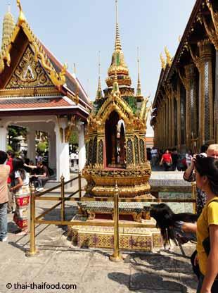 Pavillion Gebäude der Tempelanlage