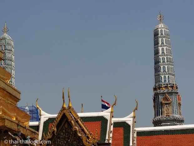 Prang im Wat Phra Kaeo