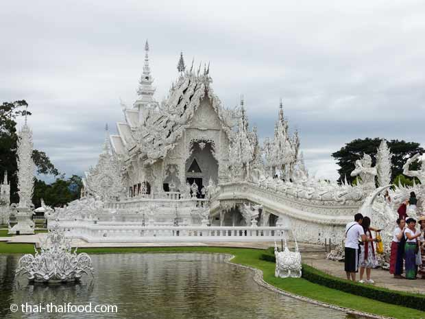 Weißer Tempel - Wat Rong Khun