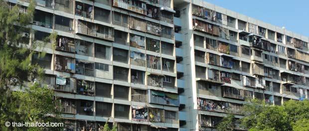Wohnblock in Bangkok