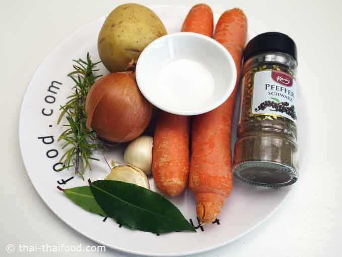 Zutaten für Entenbrust im Ofen gegrillt