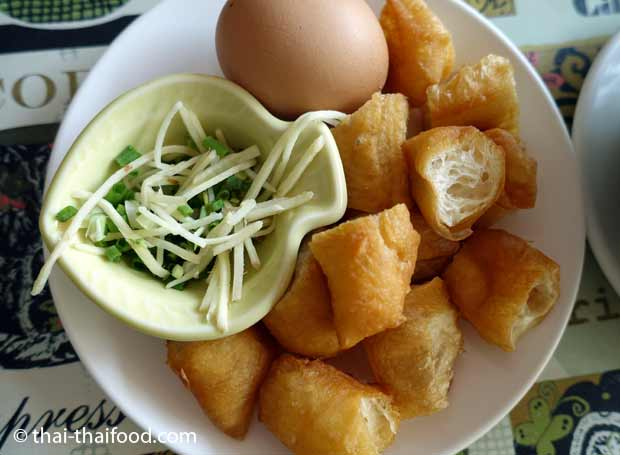 Zutaten zum Thai Congee