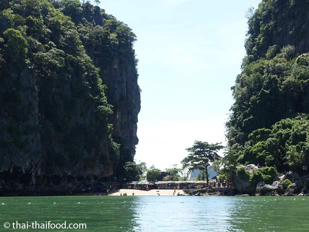 Anfahrt James Bond Insel
