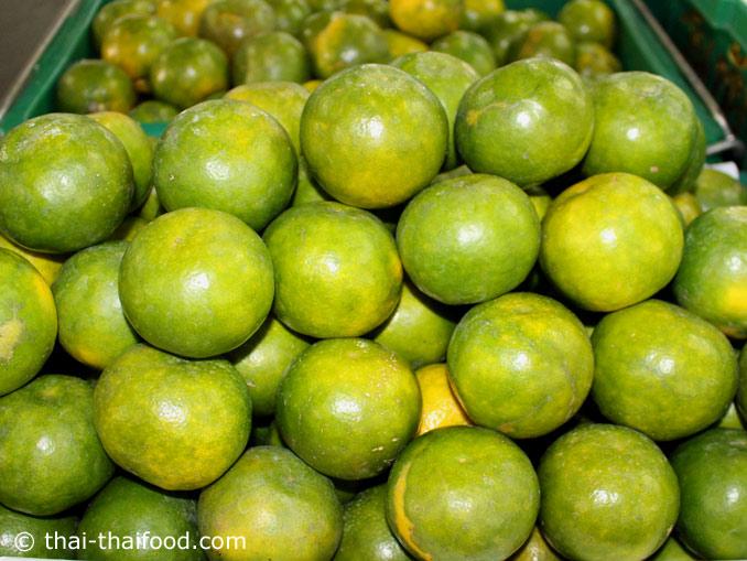 Thai Orangen ส้มเขียวหวาน