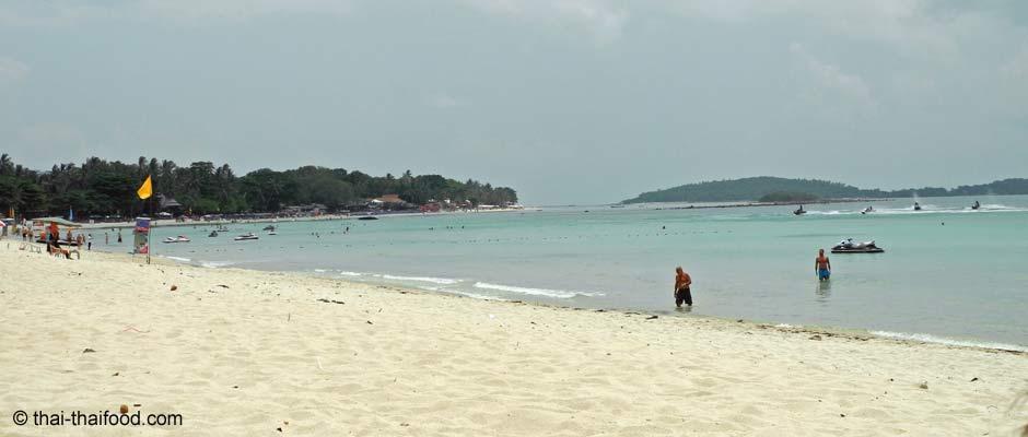 Der Chaweng Beach auf Koh Samui