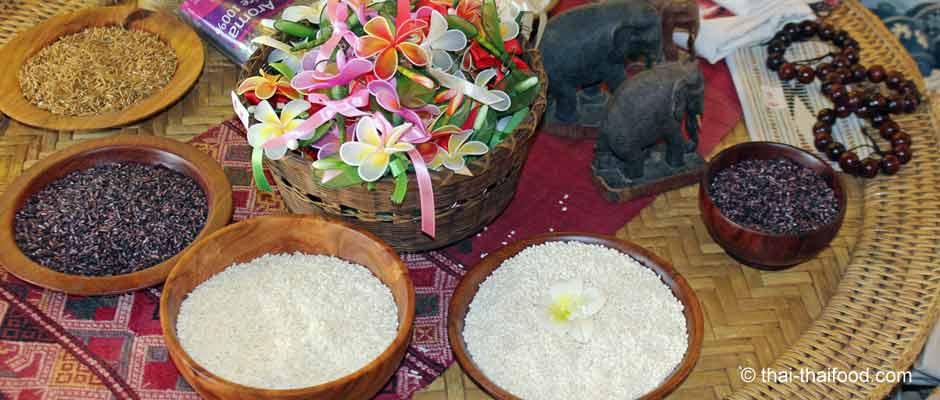 Asiatische Reissorten