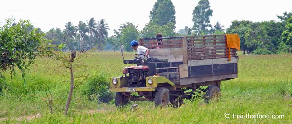 Thailändischer Truck