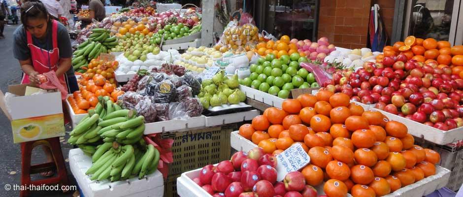 Asiatische Früchte