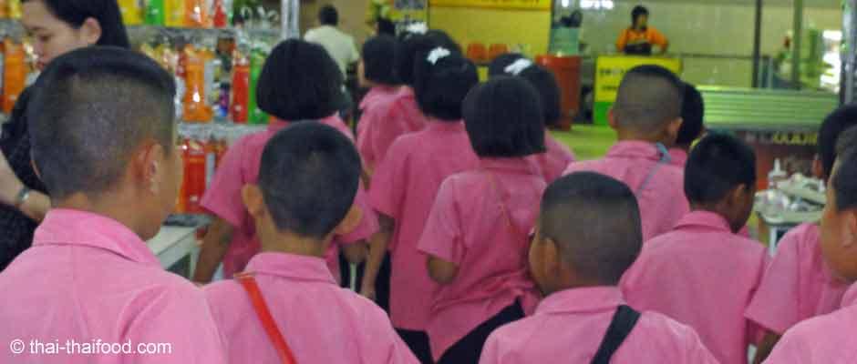 Thai Schüler Schuluniform