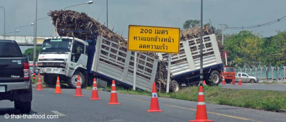 Autounfall in Thailand