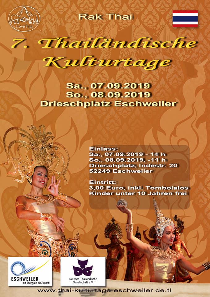 Thailändische Kulturtage Eschweiler 2019